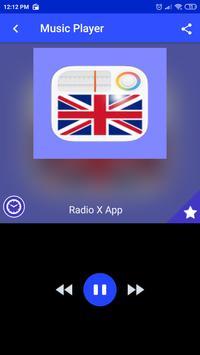 Radio X App fm UK free listen Online poster