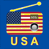 Usa radio all station 2019 icon