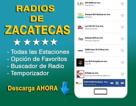 Radios of Zacatecas poster