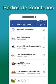 Radios of Zacatecas screenshot 1