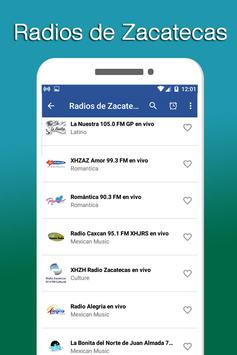 Radios of Zacatecas screenshot 3