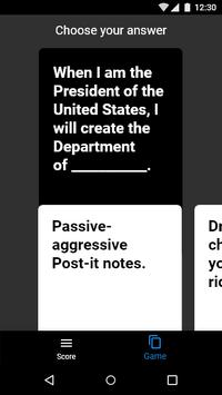 cards against humanity apk download