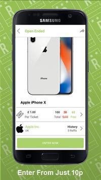 Raffl Ticket screenshot 1