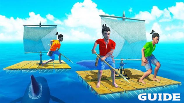 Walkthrough For Raft Survival Game 2021 ポスター