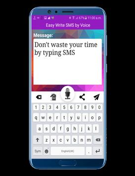 Write SMS by Voice screenshot 2