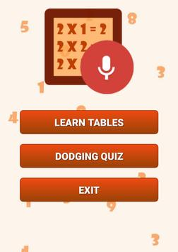 Math Tables With Audio poster