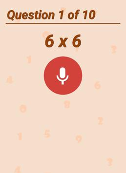 Math Tables With Audio screenshot 2
