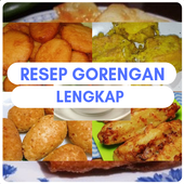 Complete fried recipes icon