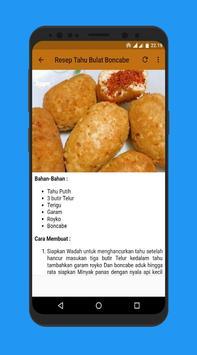 Complete fried recipes screenshot 3
