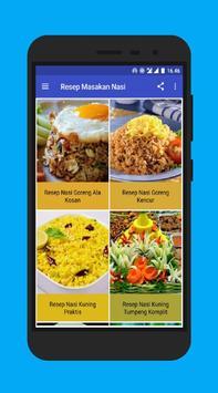Resep Masakan Nasi poster