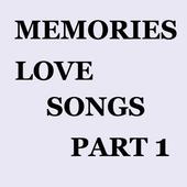 Memories Love Songs Part 1 icon