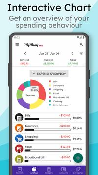 MyMoney Pro - Track & Manage Expense, Plan Budget ポスター
