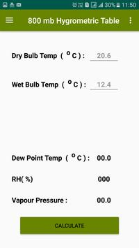 Dew Point Humidity Calculator screenshot 3