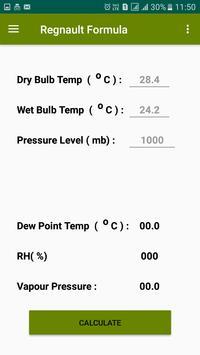 Dew Point Humidity Calculator screenshot 4