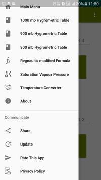 Dew Point Humidity Calculator screenshot 7