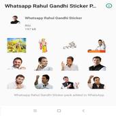Rahul Gandhi Whatsapp Stickers icon