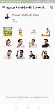 Rahul Gandhi Whatsapp Stickers poster