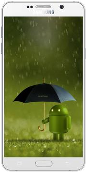 Rain Wallpaper HD screenshot 1