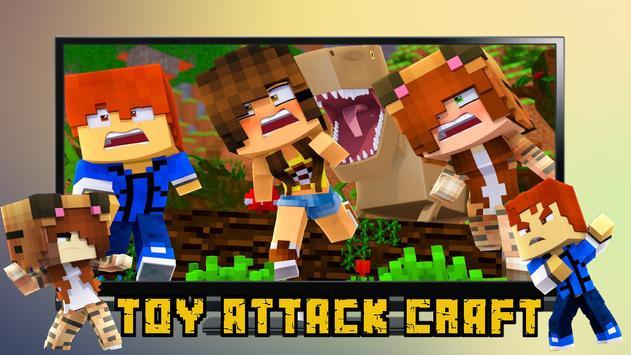 Toy Attack Craft - Cartoon Wars screenshot 1