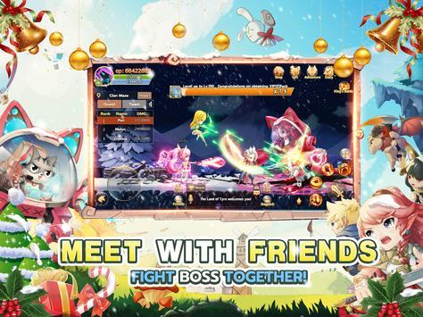 🎄Rainbow Story: Fantasy MMORPG screenshot 14