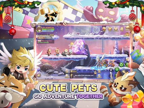 🎄Rainbow Story: Fantasy MMORPG screenshot 7