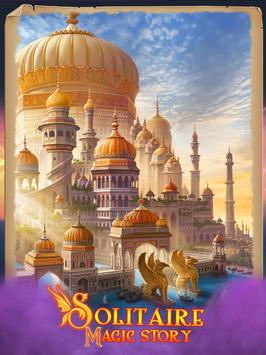 Magic Story of Solitaire. Offline Cards Adventure स्क्रीनशॉट 10