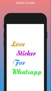 Love Stickers For Whatsapp poster