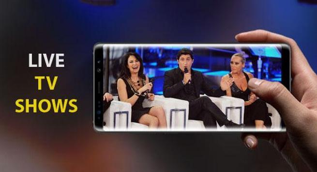 Italy TV Live screenshot 1