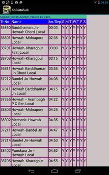 Kolkata Suburban Trains screenshot 6