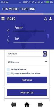 IRCTC Mobile Connect poster