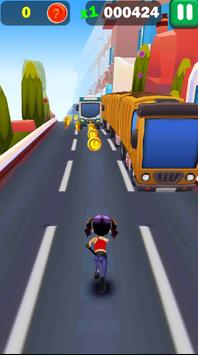Railway Lady Super Runner Adventure 3D Game screenshot 4