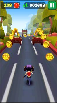 Railway Lady Super Runner Adventure 3D Game poster