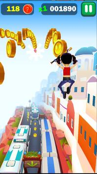 Railway Lady Super Runner Adventure 3D Game screenshot 1