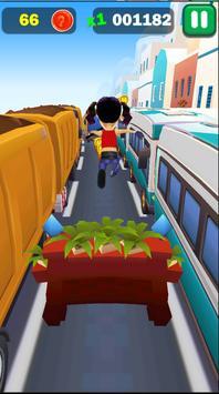 Railway Lady Super Runner Adventure 3D Game screenshot 2