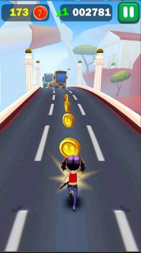 Railway Lady Super Runner Adventure 3D Game screenshot 3