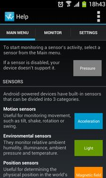 Sensor Monitor screenshot 4