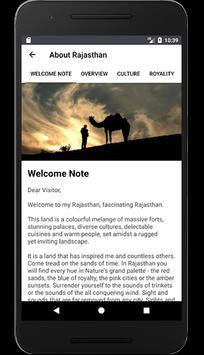 Rajasthan Tourism captura de pantalla 5