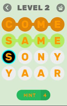 Words connect-Words game: word search hindiEnglish screenshot 1
