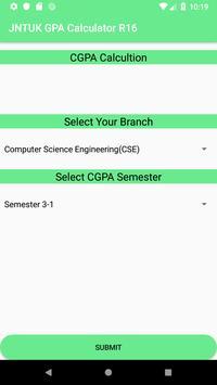 JNTUK GPA CALCULATOR R16 screenshot 3