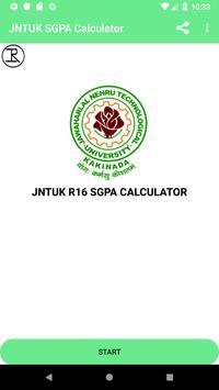 JNTUK GPA CALCULATOR R16 poster