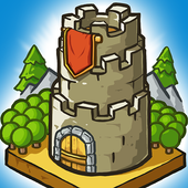 Grow Castle - Tower Defense أيقونة