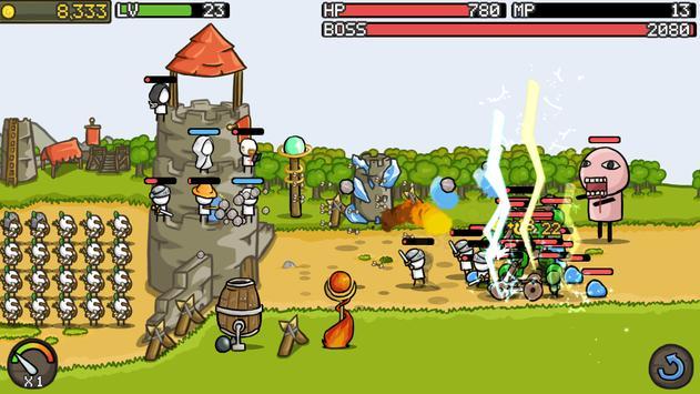 Grow Castle - Tower Defense 截圖 7