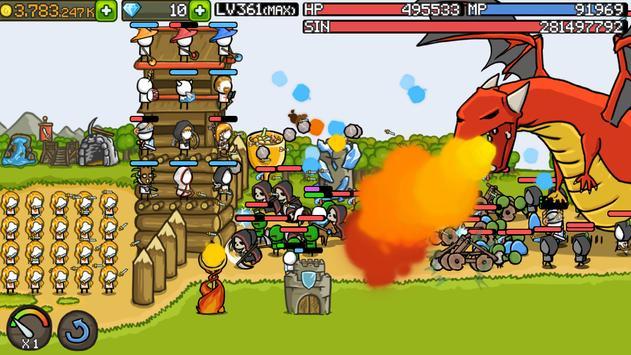Grow Castle - Tower Defense 截圖 8