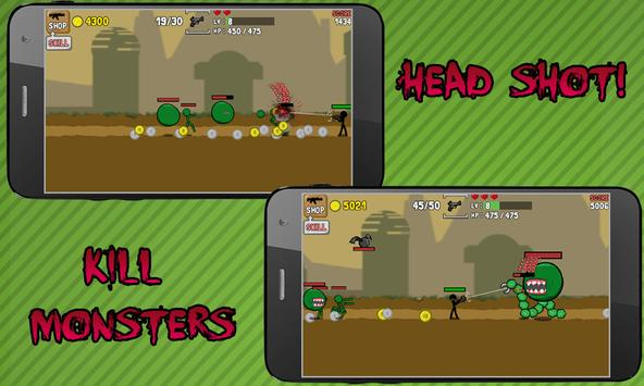 Stickman And Gun screenshot 1