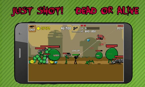 Stickman And Gun screenshot 4