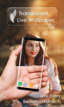 Transparent Live Wallpaper capture d'écran 9