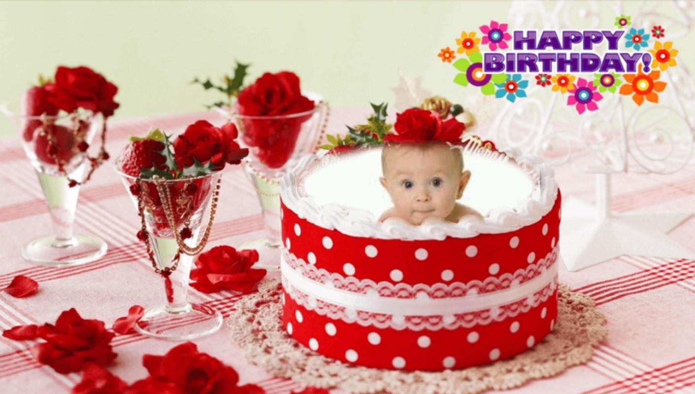 Birthday Cake Frames Screenshot 11