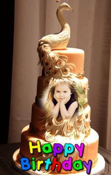 Happy Birthday Cake Frames تصوير الشاشة 10