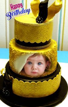 Happy Birthday Cake Frames تصوير الشاشة 1
