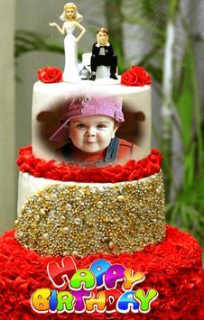 Happy Birthday Cake Frames تصوير الشاشة 5